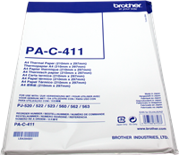Papel térmico Brother PAC411
