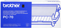 rollo de transferéncia térmica Brother PC-70