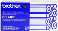 rollo de transferéncia térmica Brother PC-74RF