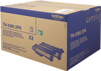 Multipack Brother TN-3380TWIN