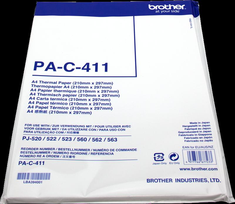 Papel térmico Brother PAC411