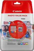 Value Pack Canon CLI-571 Photo Value Pack