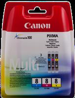 Multipack Canon CLI-8
