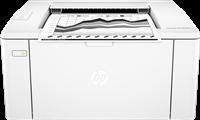 Impresora Laser Negro Blanco HP LaserJet Pro M102w