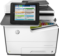 Dipositivo multifunción HP PageWide Enterprise Color MFP 586dn