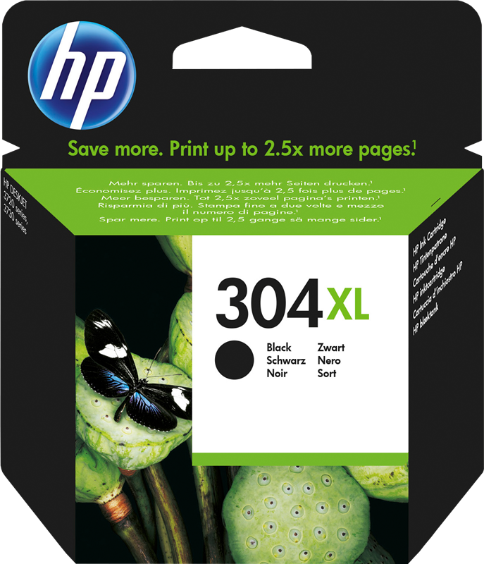 Cartucho de tinta HP 304 XL