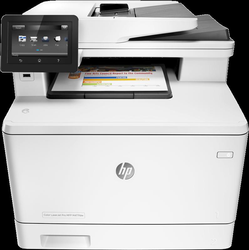 Dipositivo multifunción HP LaserJet Pro M477fdn
