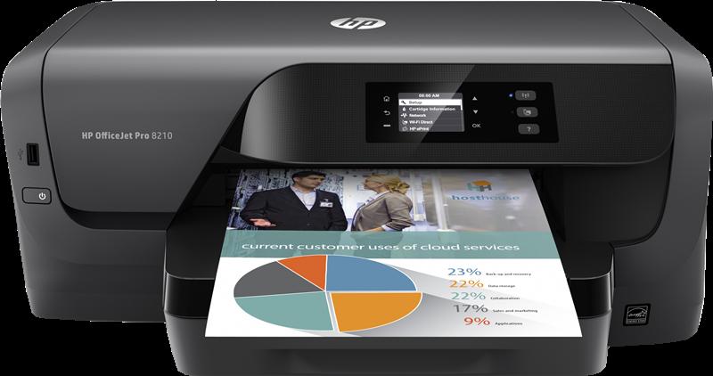 Dipositivo multifunción HP Officejet Pro 8210