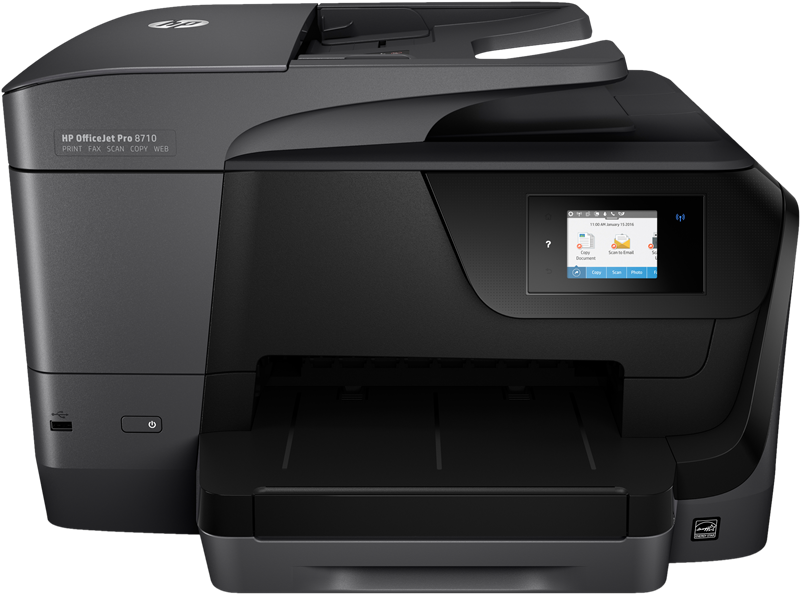Dipositivo multifunción HP Officejet Pro 8710