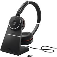 Jabra Evolve 75+ UC Auriculares inalámbricos estéreo On-Ear