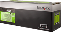Tóner Lexmark 502X