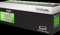 Tóner Lexmark 512H
