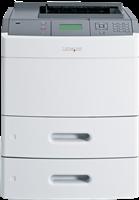 Impresora Laser Negro Blanco Lexmark T652dtn