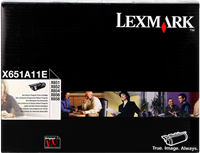 Tóner Lexmark X651A11E