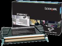 Tóner Lexmark X746H1KG