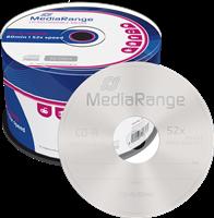 MediaRange CD-R vírgenes 700MB|80min