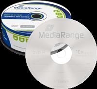 MediaRange DVD-R vírgenes 4.7GB