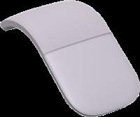 Microsoft Arc Mouse - ratón lila