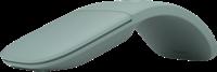 Microsoft Arc Mouse - ratón verde