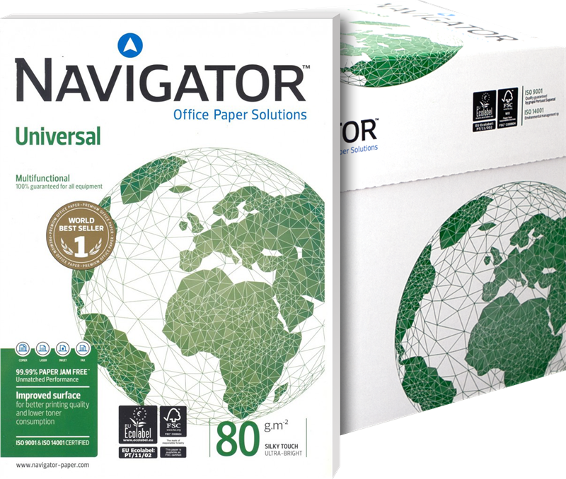 Papel multifunción NAVIGATOR 8247A80S