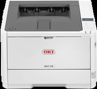 Impresora Laser Negro Blanco OKI B412dn