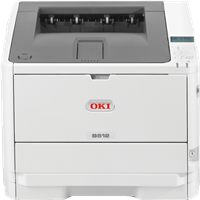 Impresoras láser blanco y negro OKI B512dn