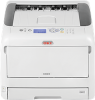 Impresora láser color OKI C823dn