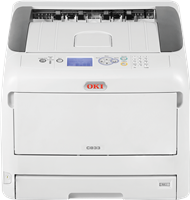 Impresora láser color OKI C833n