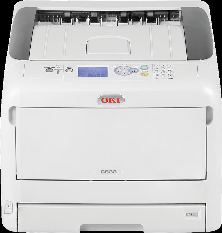 Las Impresoras Laser de Color  OKI C833n