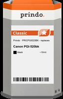 Cartucho de tinta Prindo PRICPGI520BK