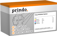Value Pack Prindo PRTBTN241 Rainbow