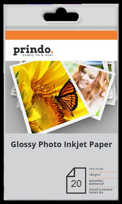 Fotopapier - Glossy Paper InkJet Prindo PR18020A6