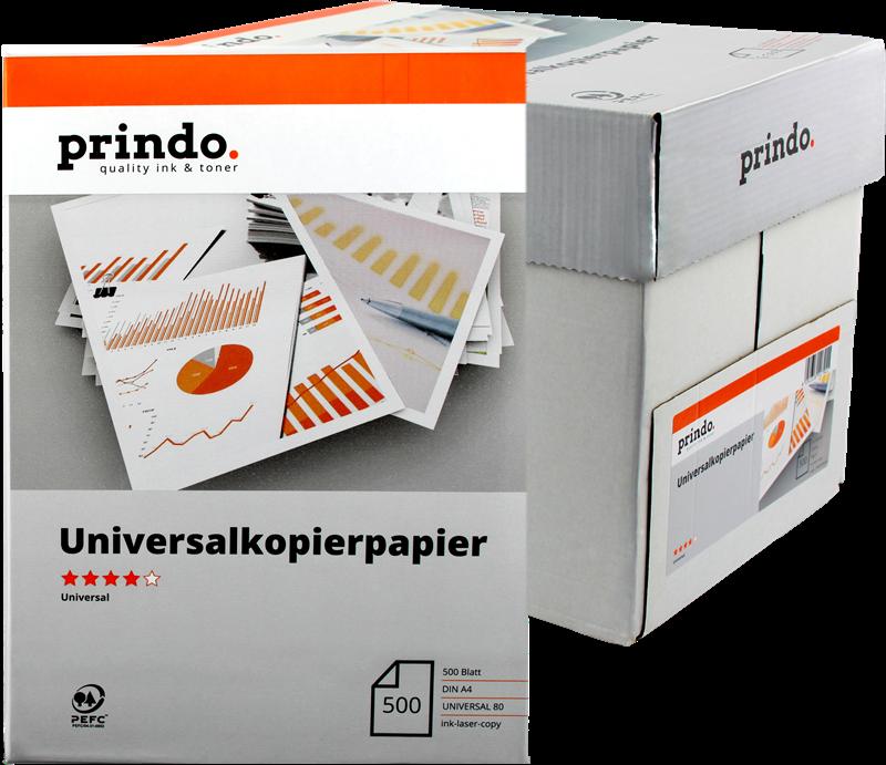 Papel multiusos Prindo PR802500A4U
