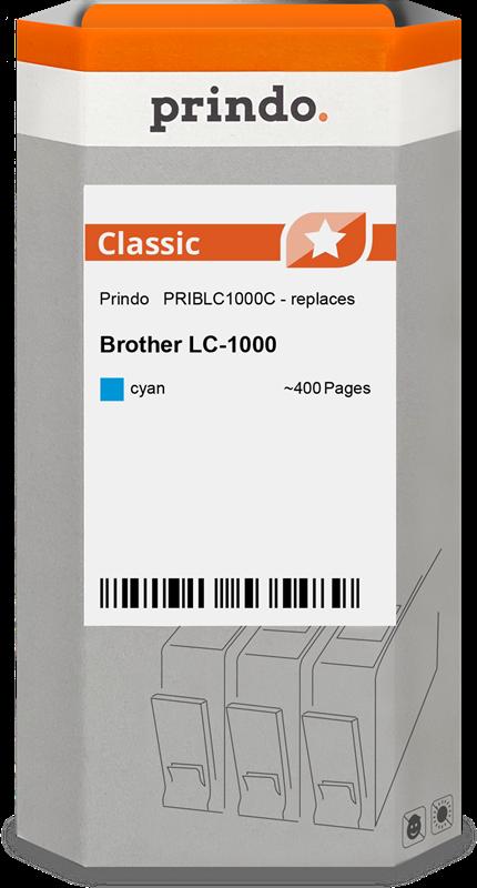 Cartucho de tinta Prindo PRIBLC1000C