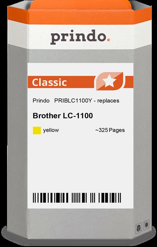 Cartucho de tinta Prindo PRIBLC1100Y