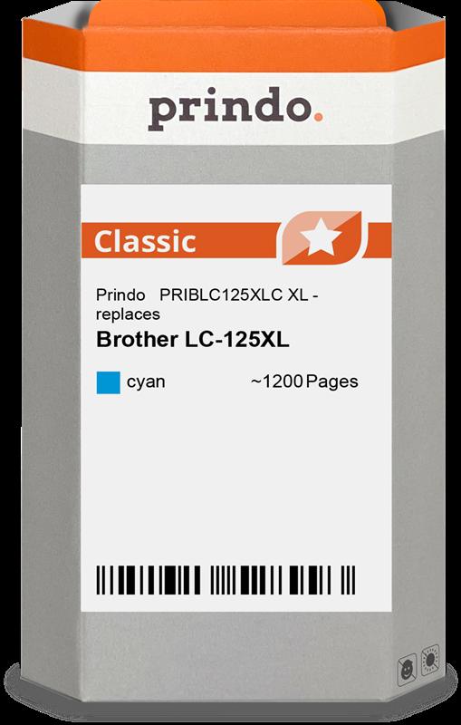 Cartucho de tinta Prindo PRIBLC125XLC
