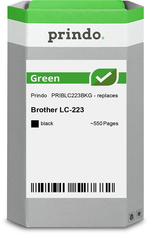 Cartucho de tinta Prindo PRIBLC223BKG