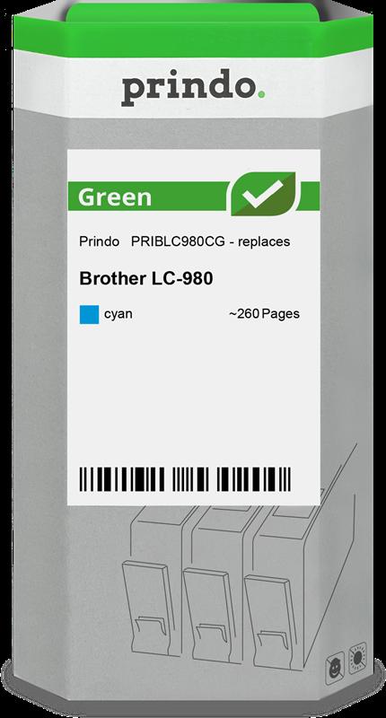 Cartucho de tinta Prindo PRIBLC980CG
