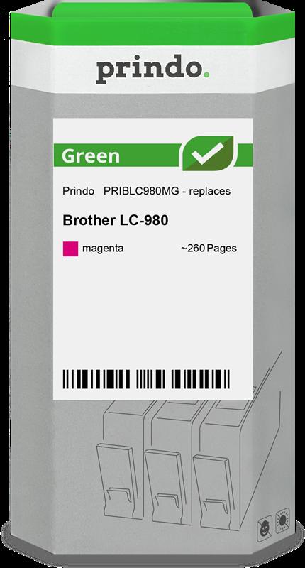 Cartucho de tinta Prindo PRIBLC980MG