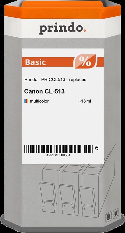 Cartucho de tinta Prindo PRICCL513