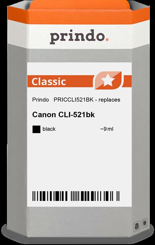 Cartucho de tinta Prindo PRICCLI521BK