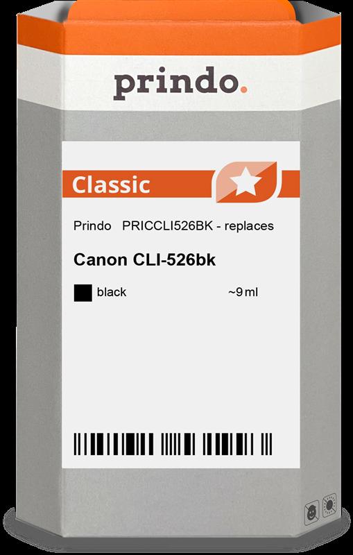 Cartucho de tinta Prindo PRICCLI526BK