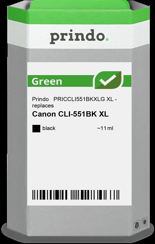 Cartucho de tinta Prindo PRICCLI551BKXLG