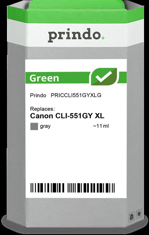 Cartucho de tinta Prindo PRICCLI551GYXLG
