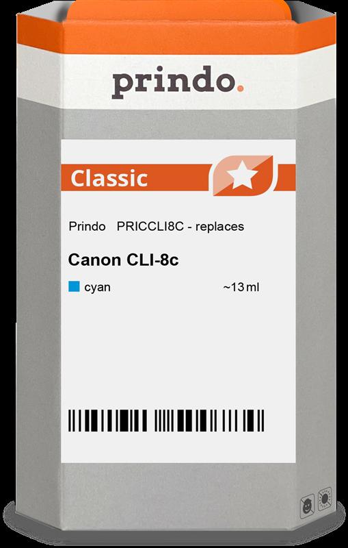 Cartucho de tinta Prindo PRICCLI8C
