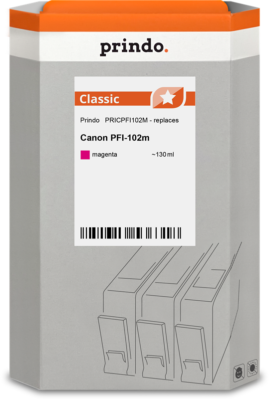 Cartucho de tinta Prindo PRICPFI102M