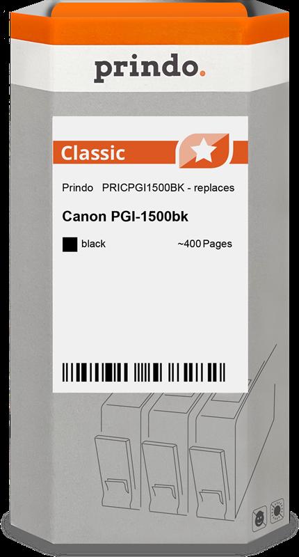 Cartucho de tinta Prindo PRICPGI1500BK