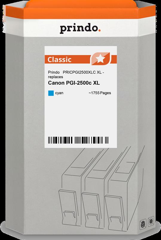 Cartucho de tinta Prindo PRICPGI2500XLC