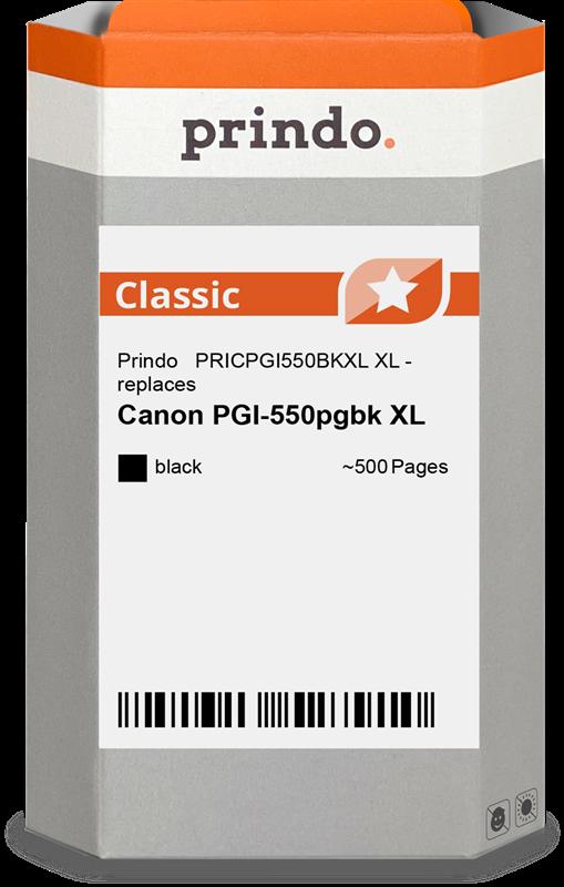 Cartucho de tinta Prindo PRICPGI550BKXL