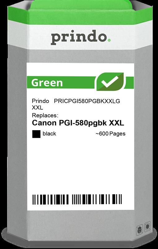 Cartucho de tinta Prindo PRICPGI580PGBKXXLG